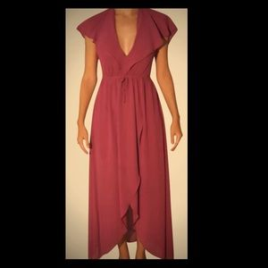 Romeo and Juliet couture maxi dress